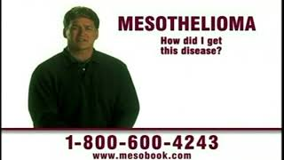 Mesothelioma commercial