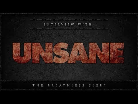 UNSANE - Interview in London (2017)