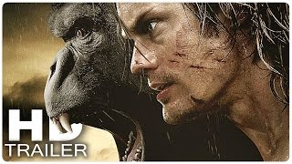 LEGEND OF TARZAN Trailer German Deutsch | Tarzan Film 2016