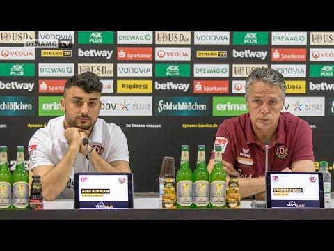 6. Spieltag | SSV - SGD | Pressekonferenz vor dem Spiel