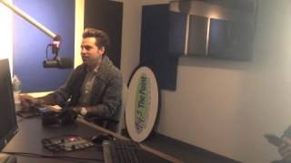Ryan Cabrera meets with 94.3 the Point