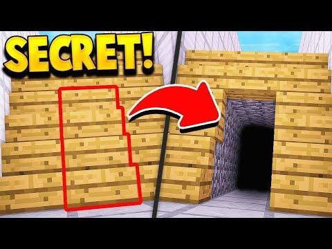 New SECRET Minecraft Rooms! (100% HIDDEN!)