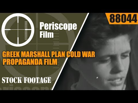 GREEK MARSHALL PLAN Cold War PROPAGANDA FILM STORY OF KOULA  88044