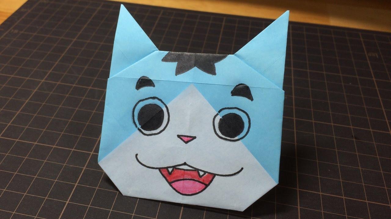 すべての折り紙 折り紙 妖怪 : の折り方 月兎組 妖怪 ...