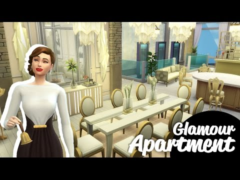 Sims 4 Speed Build | Glamour Apartment