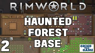 Rimworld Beta 18 - #2 MORE FOOD, POWER AND SNOW! In the Haunted Boreal Forest