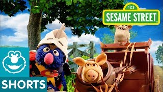 Sesame Street: Cart Before Horse | Super Grover 2.0