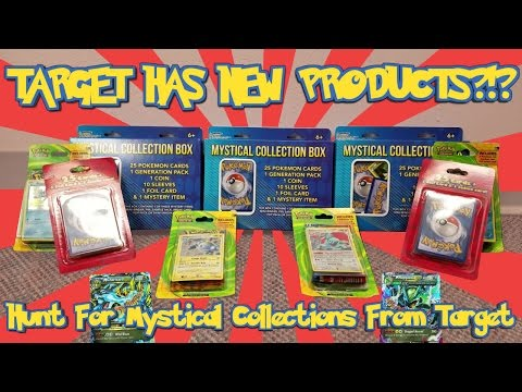 Hunting For A New Target Pokemon Card Product: The Mystical Collection Box! What Are These Pulls?!?