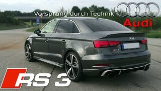 2018 Audi RS3 Sedan (400Hp) pure SOUND ✔