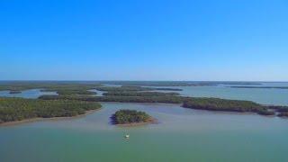 Florida Travel: Flying Above Ten Thousand Islands