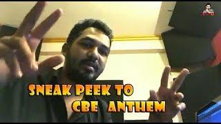 Coimbatore anthem SNEAK PEEK / Hiphop Tamizha Official announcement about CBEanthem /
