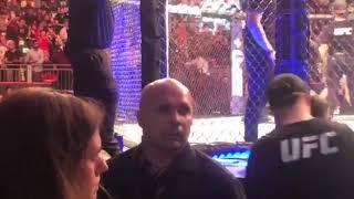 Рамзан Кадыров на шоу UFC242