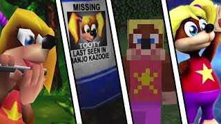 Evolution of Tooty from Banjo Kazooie (1998 - 2019)