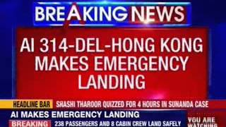 Air India flight makes emergency landing