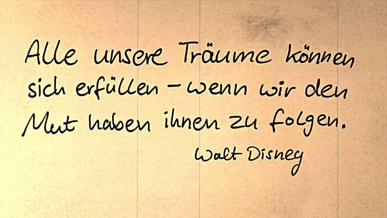 Zitat Disney - daily motion #284 - YouTube