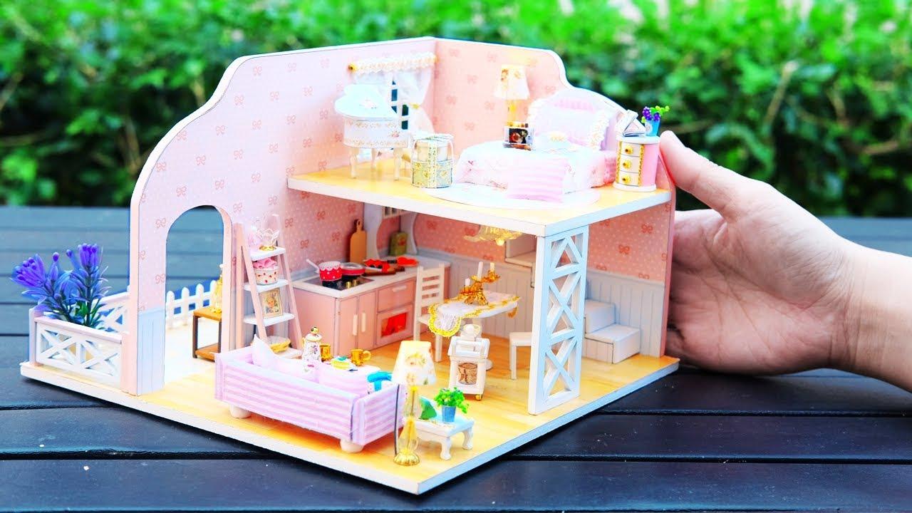 Diy Miniature Dollhouse Kit Little Princess With Full