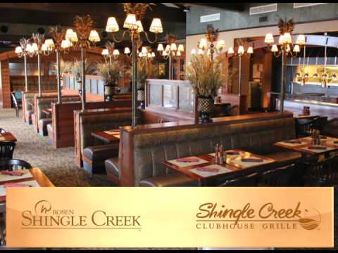 Rosen Shingle Creek Restaurants You