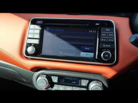 How To Use the Satellite Navigation in the New Nissan Micra