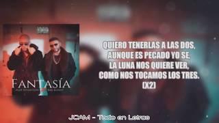 LETRA - Fantasia  - Bad Bunny x Alex Sensation