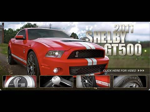 the worlds fastest production mustang 2011 shelby gt500 youtube. Black Bedroom Furniture Sets. Home Design Ideas