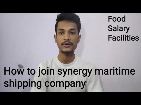 How to join synergy maritime shipping company || vacancy, food, facilities, salary details etc