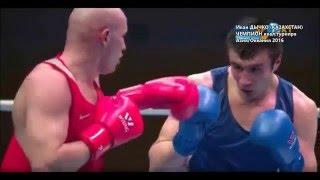 Бокс Иван Дычко (Казахстан) - Чемпион отборочного турнира Азия Океания на Олимпиаду-2016 Boxing KAZ