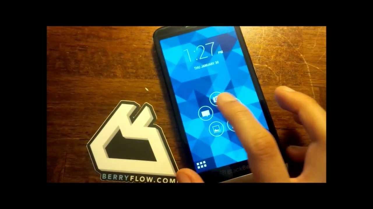 Z30 BlackBerry 10 2 1 Running Android Jelly Bean 4 2 2 Runtime