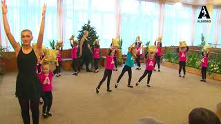 Колыбельная танец с подушками открытый урок 1 группа 24.12.17