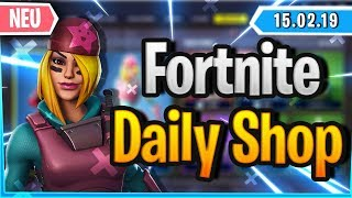 Fortnite Daily Shop *NEW* SKULLY SKIN & SELTENER GLEITER (15 February 2019)