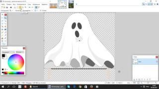 Paint.net. Урок 10 - Как сделать изображение прозрачным и использовать его