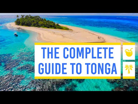 🏝️ The Complete Travel Guide to Tonga ☀️ by TongaPocketGuide.com
