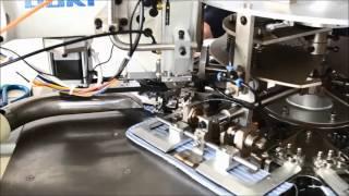 видео: WS 8210B Автоматическая станция для пошива манжет