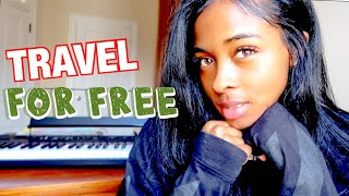 How I Travel FOR FREE & Make Money Doing it!!