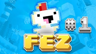 FEZ: THIS GAME IS EPIC! - Episode #1 | RuxPlay - 2D Indie Game