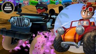 BEACH BUGGY RACING 2 - PART 1 | ANDROID GAME KIDS | ELD ANDRO GAMING | MASHA SHAUN SPONGEBOB TAYO
