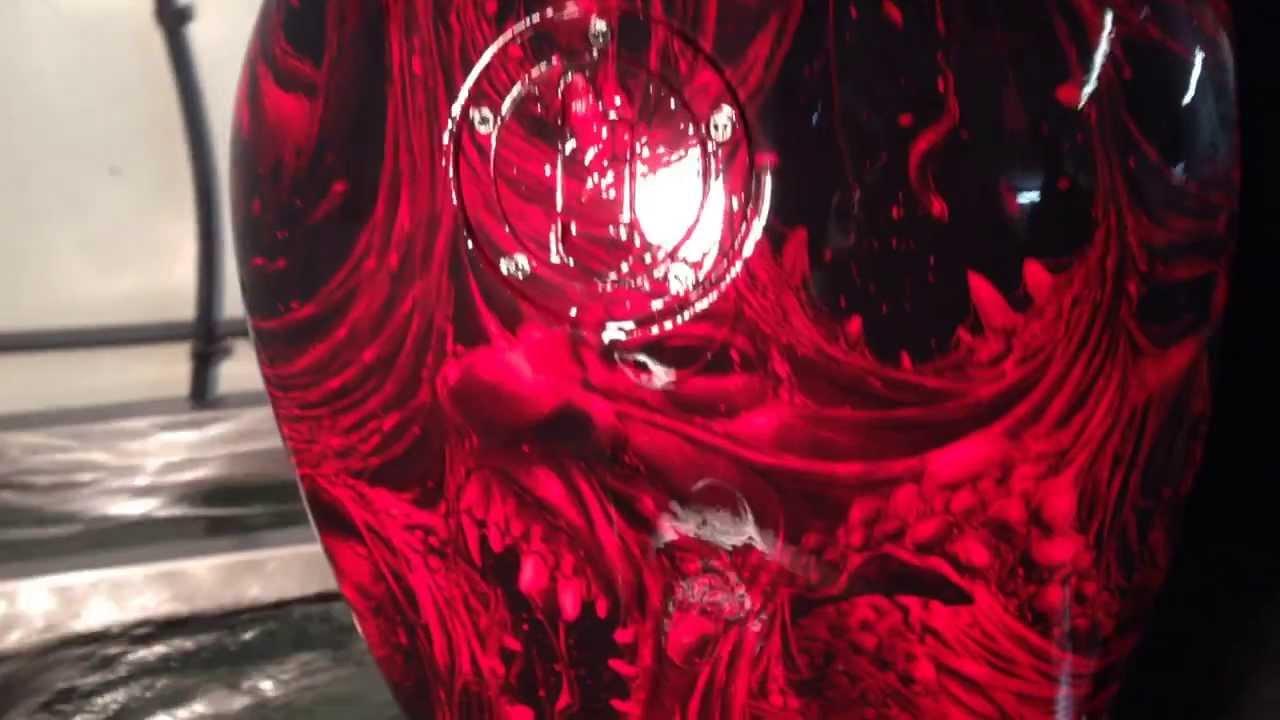 Huge Zombie Nebula Fuel Tank - Hydrographics - YouTube