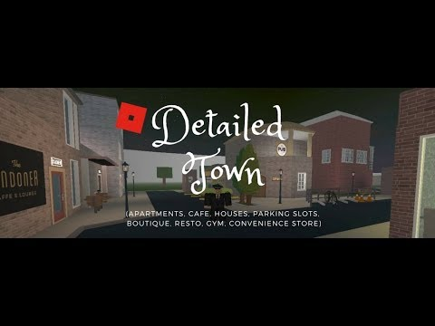 Building A Mini Town Roblox Welcome To Bloxburg 1 - Roblox Welcome To Bloxburg Detailed Town Build Ideas 3