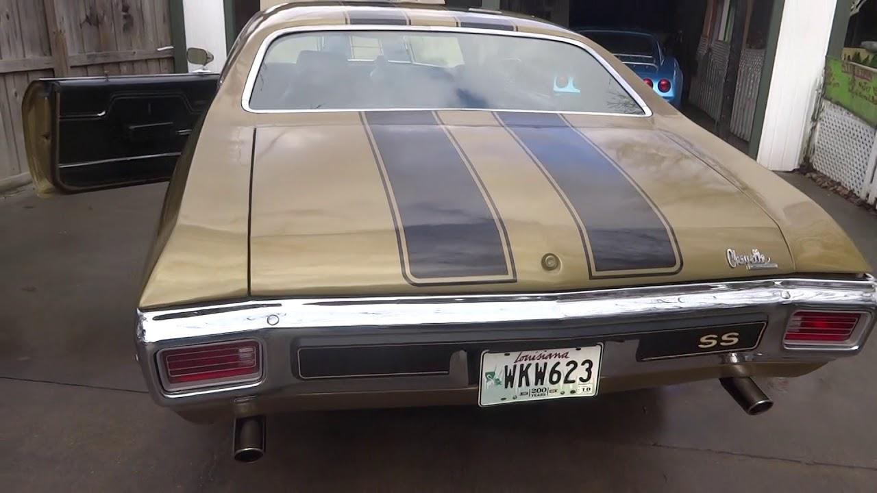Louisiana 1970 Chevelle SS January 2018 - YouTube