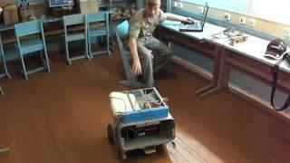 Второе рождение Автобота 720(Двигатели от шуруповертов, автомобильный аккумулятор и нетбук. Управляется по сети WiFi с другого ноутбука..., 2011-06-09T14:31:59.000Z)