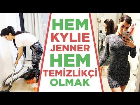 Hem Kylie Jenner Hem Temizlikçi Olmak #gün8