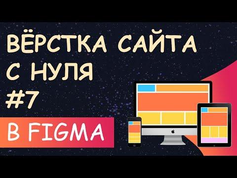 Верстка сайта с нуля из Figma для начинающих #7 - адаптируем меню