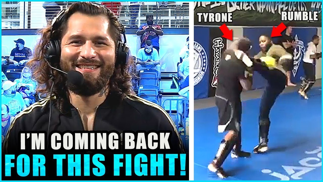 Jorge Masvidal TEASES huge comeback fight in December, sparring footage of Anthony Johnson & Tyrone