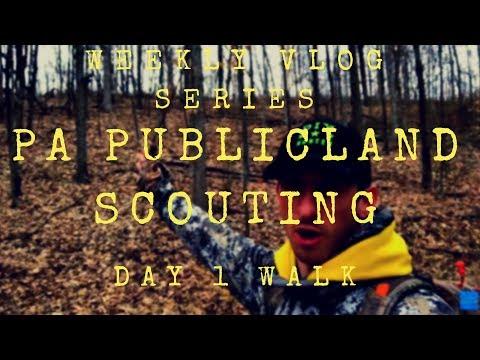 Public Land Scouting Tips | Pennsylvania