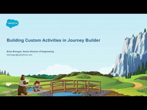 Building Custom Activities In Journey Builder