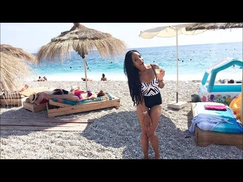 Beachin' and nightlife in Dhermi , Albania! | GGP Travel Vlog