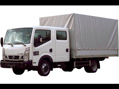 Nissan Cabstar сдвоенная кабина Борт-тент, фургон 16м3, 7 европаллет