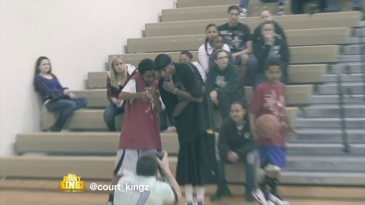 Obi Toppin NBA Lottery Pick at 11 Years Old, Dunkers Delight with Court Kingz !