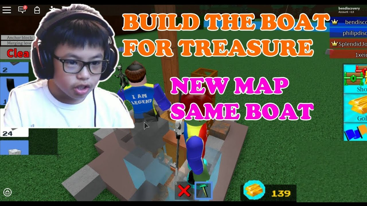 Bad Games Roblox Roblox Build The Boat For Treasure New Map Same Super Bad Boat Ben Toys And Games Family Friendly Gaming And Entertainment