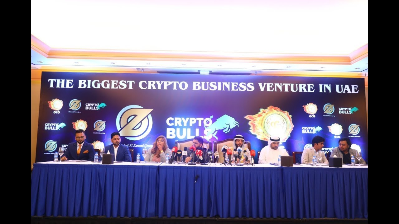 The Biggest Crypto Business Venture in UAE/GCG Coin Press Conference With New Partners Dubai
