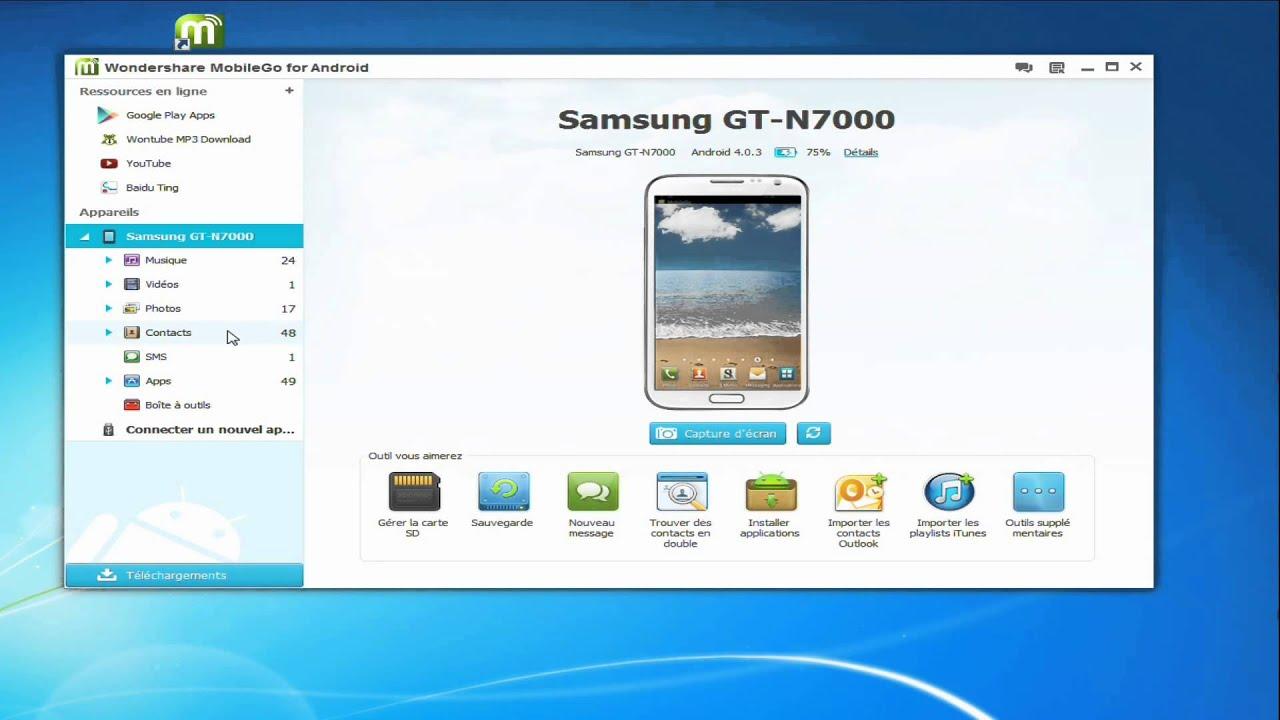 Comment sauvegarder les contacts du Samsung Galaxy S10